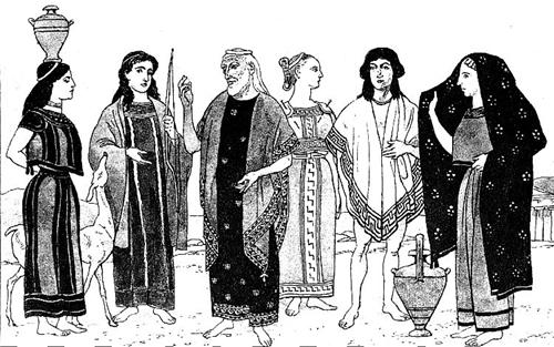 образ в античном стиле