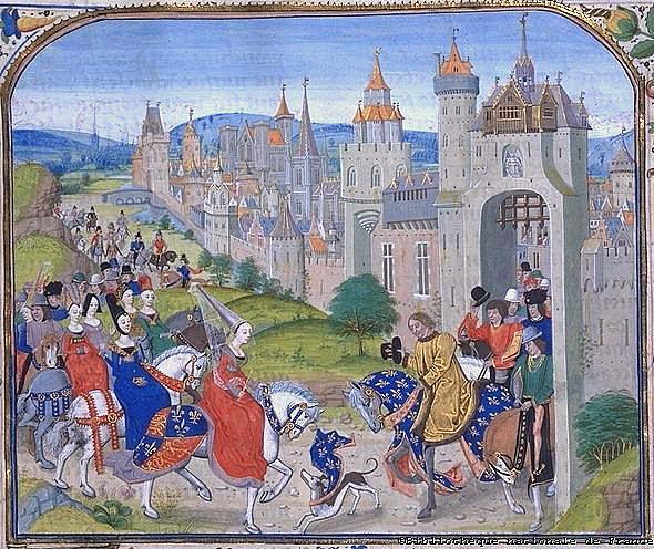 Средневековая тусовка