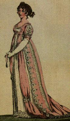 Модница начала XIX века