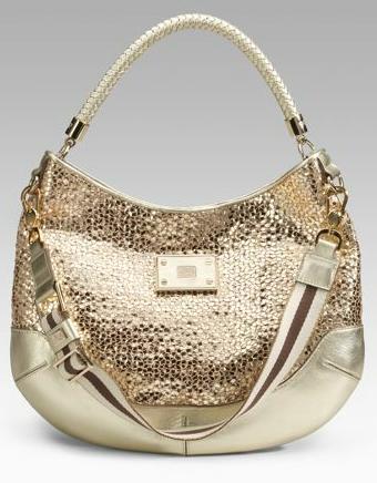 Сумка от Anya Hindmarch.  Модные текстильные сумки на лето.
