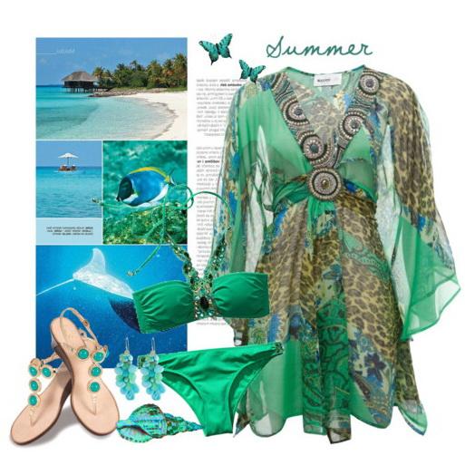 пляжные платья-4