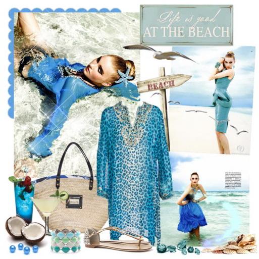 пляжные платья-2
