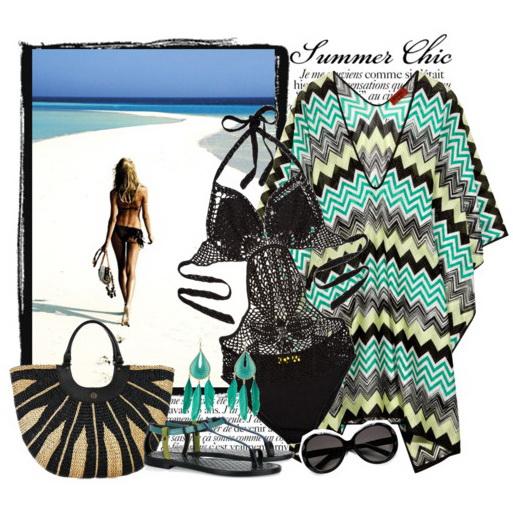 пляжные платья-1