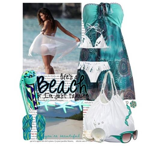пляжные платья-3