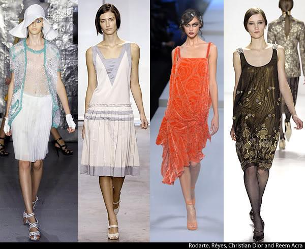 платья в стиле 20-х годов