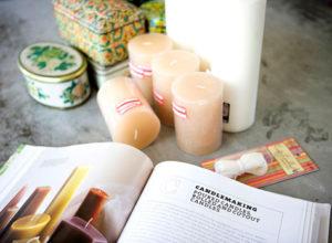 Как сделать ароматические воски для дома