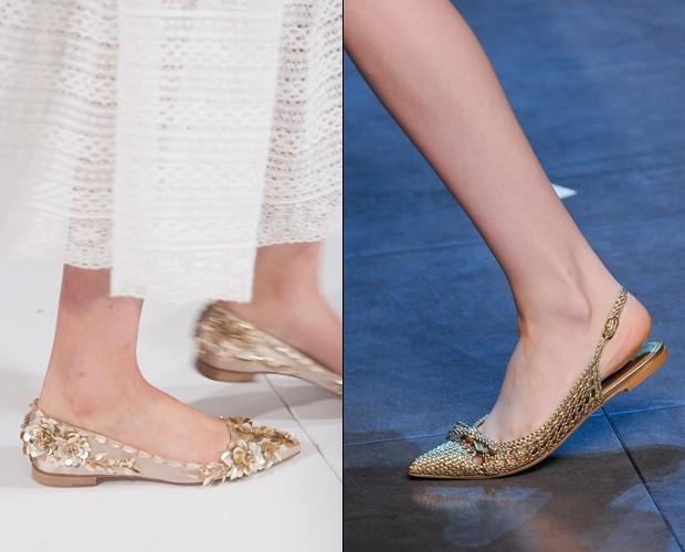 Oscar de la Renta и Dolce & Gabbana