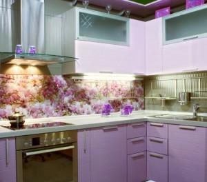 оформление рабочей стенки на кухне
