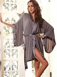 стильный женский халат
