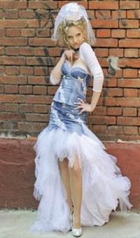 необычные свадебные платья-2