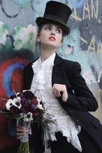 необычные свадебные платья-3