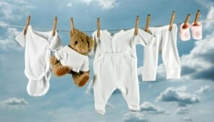правила стирки вещей младенца