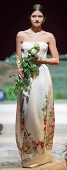 свадебное платье с цветочным принтом-2