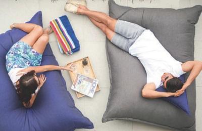 напольная уличная подушка