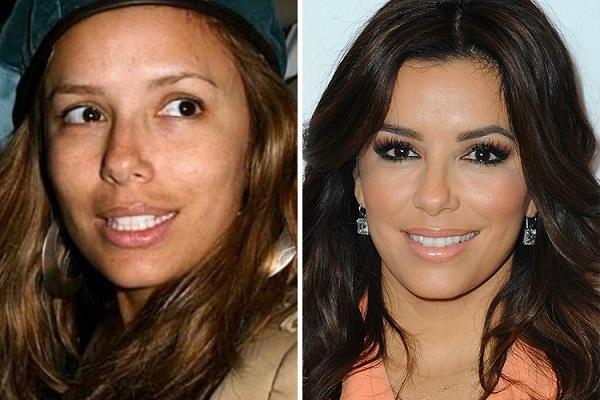 Знаменитости без макияжа: Ева Лонгория