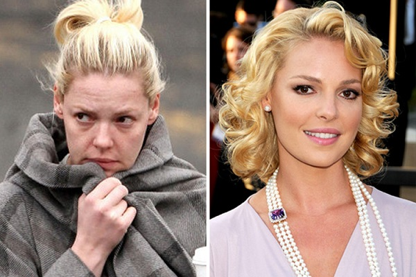 Знаменитости без макияжа: Кэтрин Хэйгл