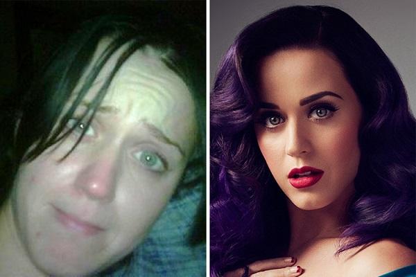 Знаменитости без макияжа: Кэти Перри
