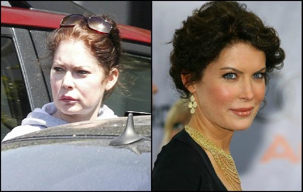 Знаменитости без макияжа: Лара Флинн Бойл