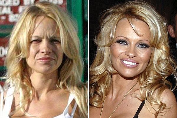 Знаменитости без макияжа: Памела Андерсон
