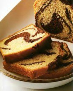 мраморный пирог с шоколадом
