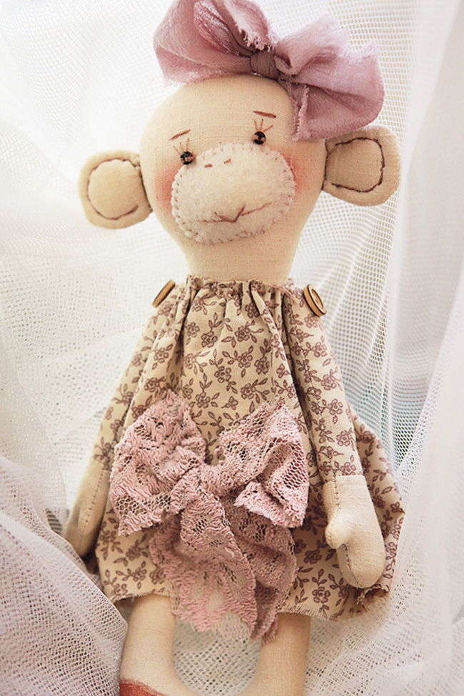 кукла-обезьяна