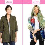 тренды моды осень 2016: куртки-бомберы