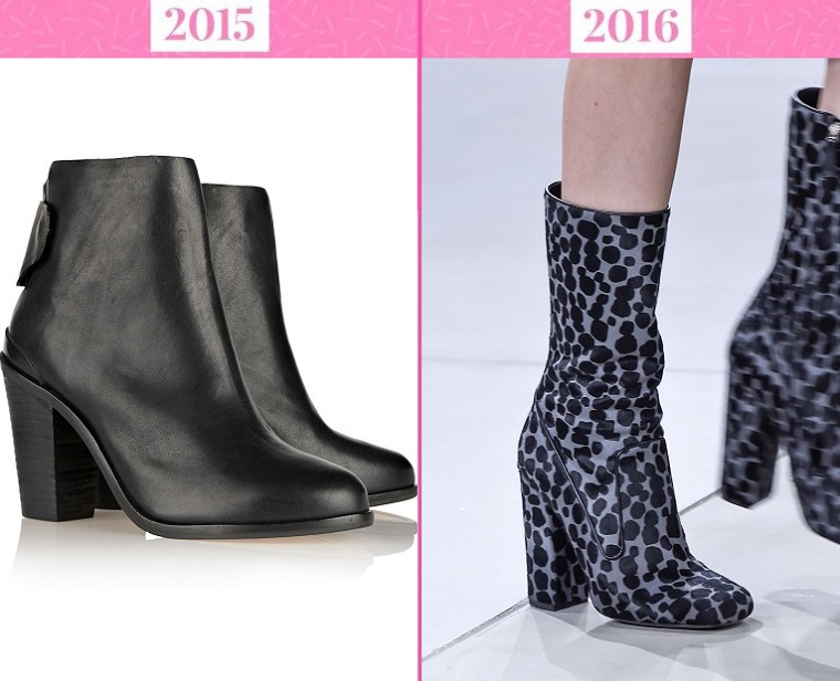 тренды моды 2016: ботильоны
