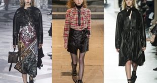 тренды моды осень 2016: гранж
