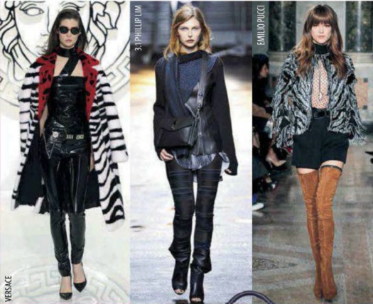 тренды осень 2016 женская мода