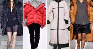 модные дутые пальто 2016