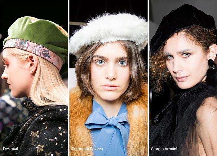 модные головные уборы весна 2017 фото женские