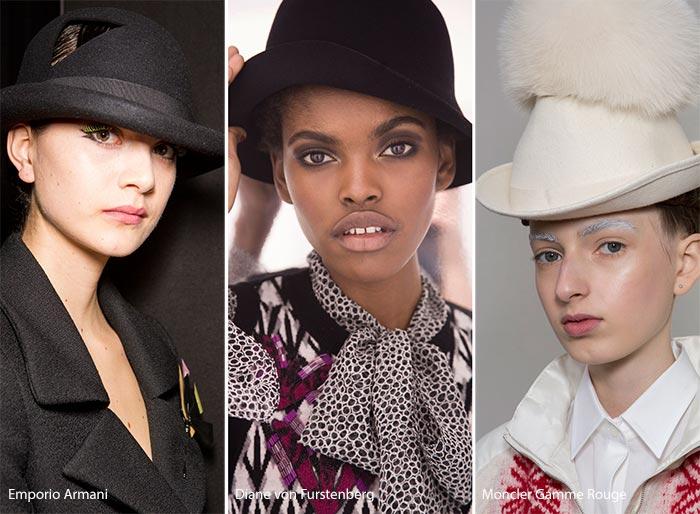 самые модные головные уборы 2016 2017 женские