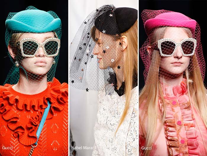 модные женские головные уборы весна 2017