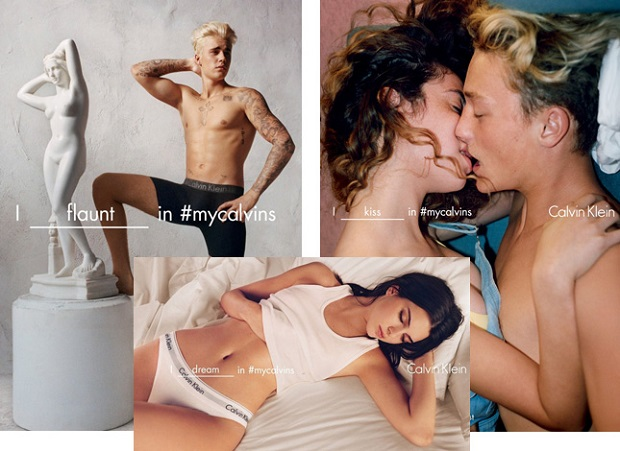 Calvin Klein, рекламная кампания 2016 года