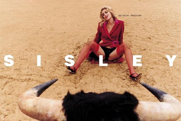 Sisley, рекламная кампания 2003 года