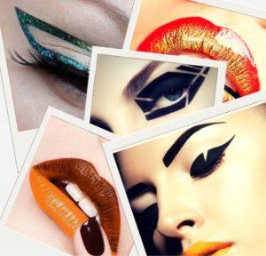 тренды макияжа 2018: это артистично